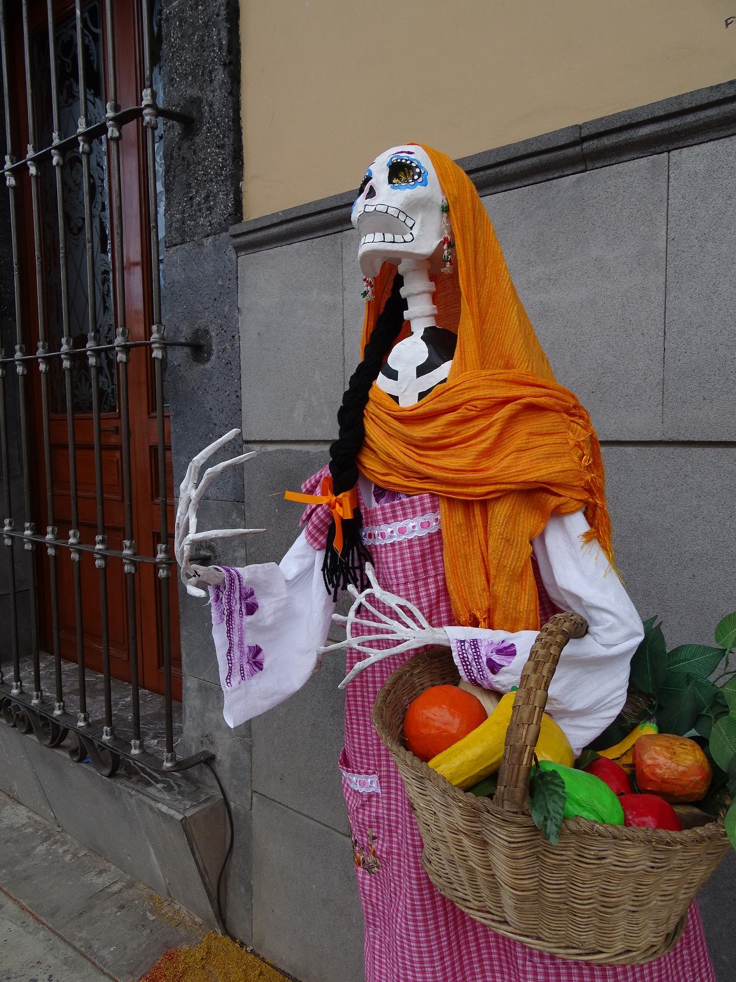 Día de muertos multicultural