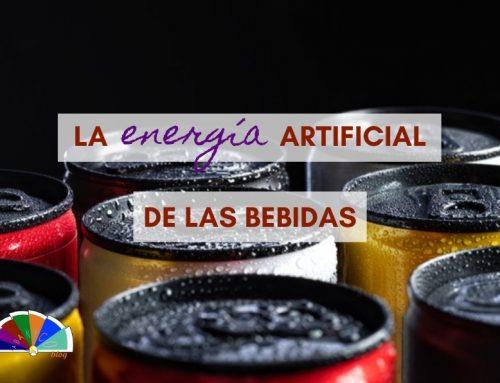 La energía artificial de las bebidas